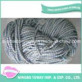 Light Appearance Knitted Scarf Loop Cotton Fancy Yarn