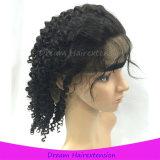 130% Density Virgin Human Hair Deep Curly Full Lace Wigs