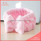 Multifunctional Coral Fleece Headband Girl Hair Band