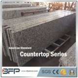 High End Gray Granite Countertop Polished with Small Chamfer