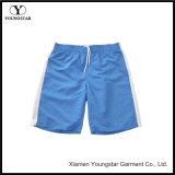 Men′s Swim Trunks Blue White Water Beach Board Shorts