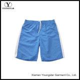 Men′s Swim Trunks Blue White Water Beach Board Shorts