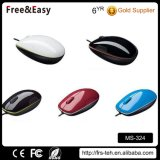Cheap Wholesale 3 Buttons Optical Wired Mouse
