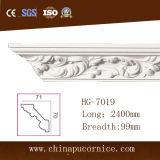 Beautiful Design 10cm White PU Polyurethane Foam Moulding for Ceiling LED Light