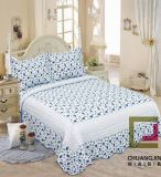 Pigment Quilt Printed Bedspread Microfiber/Cotton Fabric