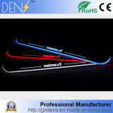 LED Moving Light Door Scuff Plate Welcome Pedal