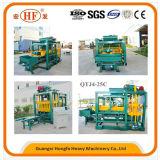 Semi-Automatic Brick Machinery Concrete Block Making Machine (QT4-25C)