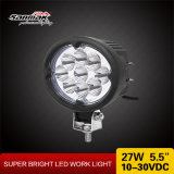 Oval Hot Sale 5.5 Inch 27W CREE LED Work Lamp