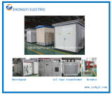 Combined Power Transmission/Supply Distribution Transformer Substation