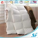 White /Grey Goose Feather Comforter Insert for Hotel