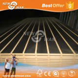 Groove and Slotted Slat Wall MDF Panel with Aluminium Alloy Profile