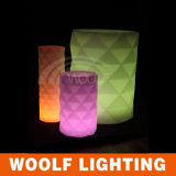 Wedding Event Party Color Changing LED Flower Pot