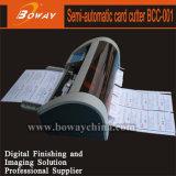 Boway 90X50 90X54 89X51 85X55 85X54smm Semi-Automatic Business Card Cutter