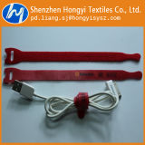 Customized Adjustable Self-Locking Hook & Loop Cable Tie