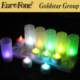 Top Sale LED Rechargeable Candle Light with Remote Control