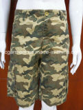 Casual Camouflage Colorful Rainbow Cargo Beach/Board Shorts for Man/Women
