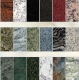 China Polished Colorful Granite Stone Tile for Kitchen Countertop/Flooring Tile