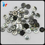 18L Nature Black Mop Shell Sewing Button for Baby Clothing