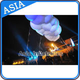 LED Flying Cloud balloon Advertising Helium Inflatable Balloon