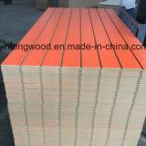 Orange Color Melamine MDF with Slot