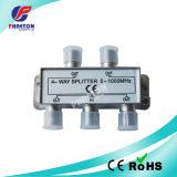 4 Way TV Splitter CATV Splitter Satellite Splitter 5~1000MHz