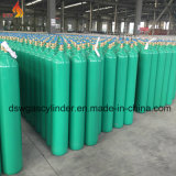 CO2 Gas Cylinder with Green Color