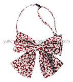 Customized Lady Polyester Collar Flower Bow Tie