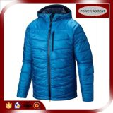 2015 Fashion Mens Shiny Blue Quilted Durable Down Jacket