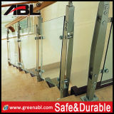Stainless Steel Interior Glass Staircase (DD33)