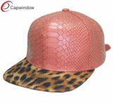 Snake Leather and Leopard Promotional Sport Era Leisure Baseball /Snapback Hat
