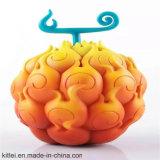 Colorful Vinyl Craft Round Shape Plastic Decoration Gift