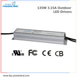 135W 3.15A Outdoor Constant Current LED Driver Power Supply