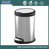 Stainless Steel Braking Foot Pedal Trash Can for Hospital/Hotel/Office