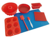 8 Pieces High Quality Silicone Bakeware Set