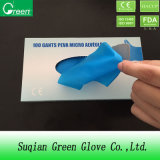 Cheap Blue Disposable TPE/PE/CPE Gloves