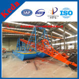 Alluvial Gold Bucket Chain Dredger Ship for Sale