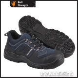 Suede Leather Safety Shoe with Steel Toe (SN5193)