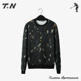 New Mens Plain Black Pullover Hoodies Custom Hooded Sweatshirt