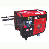 Semi-Silent 3kVA Three Phase Diesel Engine Generator with Wheels& Handle