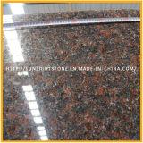 Top Polished Natural Tan Brown/English Brown Granite for Floor &Countertop