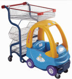 Kids Seat Shopping Supermarket Car Trolley