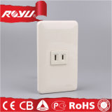 Middle East Saso Approved 86*120 2pin 16A Socket