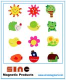 Painted Cute Wooden Cartoon Fridgemagnet/Educational Toys