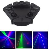 RGB Moving Head Spider Stage LED Laser Light