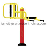 Traditional Red&Yellow Outdoor Gym Equipment Waist and Back Massager