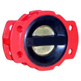 Double Plate Rubber-Coated Check Valve (YH-47X-10/16)