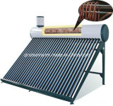 Compact Pre-Heated Copper Exchanger Solar Water Heater