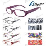 Designer Plastic Reading Glasses with Match Pouch and Paper Transfer Pattern (RP93241)