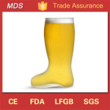 High Quality Frosted Boot Shaped Beer Glass Mug
