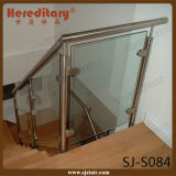 Side Mounted Stainless Steel 316 Glass Staircase Handrail (SJ-S084)